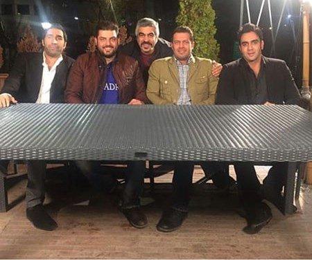سام درخشانی در سری جدید شام ایرانی + تصاویر پشت صحنه