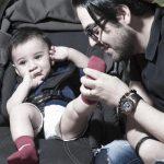 تصاویر جدید منتشر شده از عماد طالب زاده و پسر بانمکش!