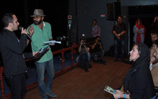 مهتاب کرامتی و عباس غزالی در اکران خیریه یک فیلم + تصاویر