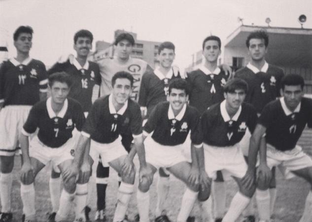 دوران جوانی علی کریمی قبل از پرسپولیسیشدن +عکس