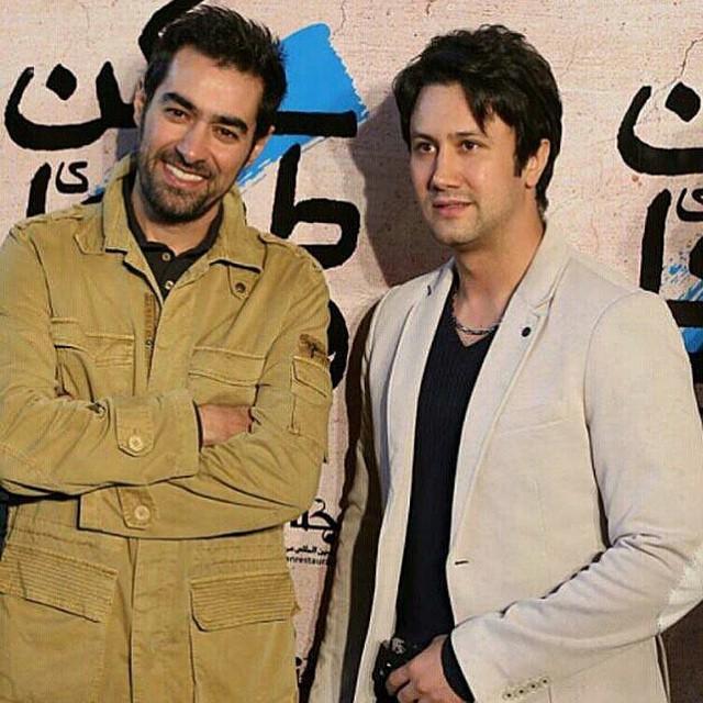شاهرخ استخری در کنار شهاب حسینی + عکس