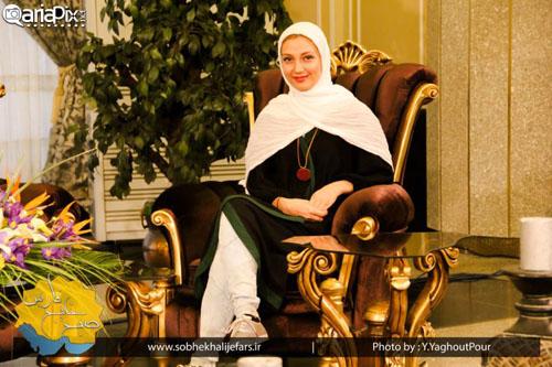 حدیث میرامینی,امیرمحمد زند و مجید خراطها در برنامه تلویزیونی + تصاویر