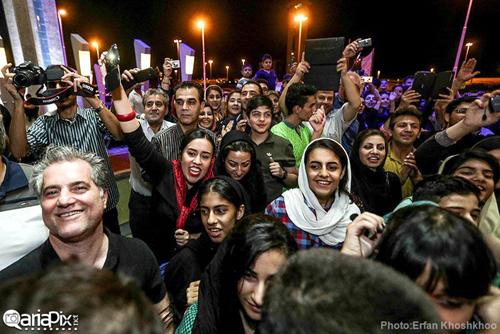 تصاویری از بازگشت تیم ملی والیبال ایران از مسابقات لیگ جهانی ۲۰۱۴