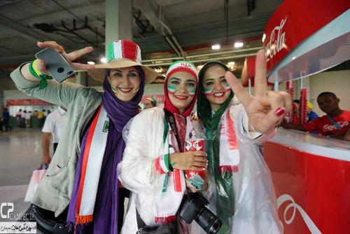 هنرمندان ایرانی زیر باران برزیل خیس شدند + تصاویر