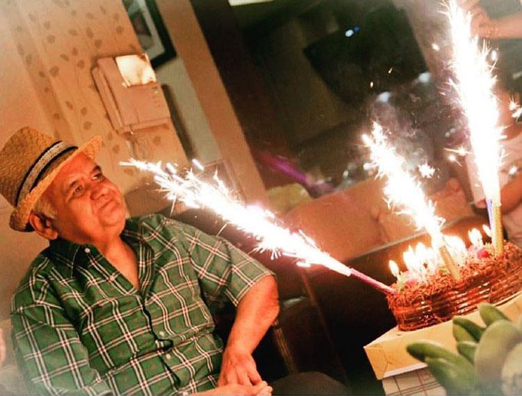 عکس جدید اکبر عبدی در سالروز تولد ۵۴ سالگی +عکس