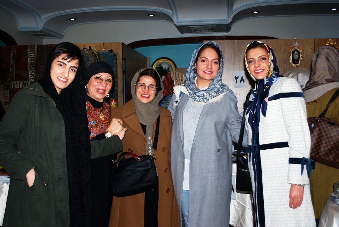 مهناز افشار در مرکز خیریه حامی +عکس