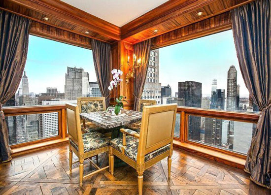 عکس های بسیار زیبا از آپارتمان جدید رونالدو در برج ترامپ نیویورک +تصاویر