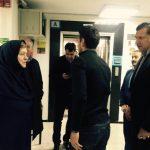 عکس جدید علی دایی در بیمارستان ایرانمهر
