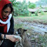 عکس دیده نشده از هدیه تهرانی