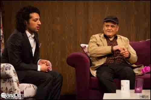 عکس های جدید اکبر عبدی در برنامه تلویزیونی