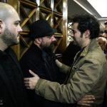 چهره ها در مراسم ترحیم انوشیروان ارجنمد؛ از بهداد و شهاب حسینی تا فردوسی پور و ده نمکی +تصاویر