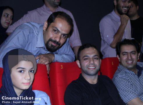 حضور صابر ابر در مراسم دیدار با عوامل فیلم قندون جهیزیه + تصاویر