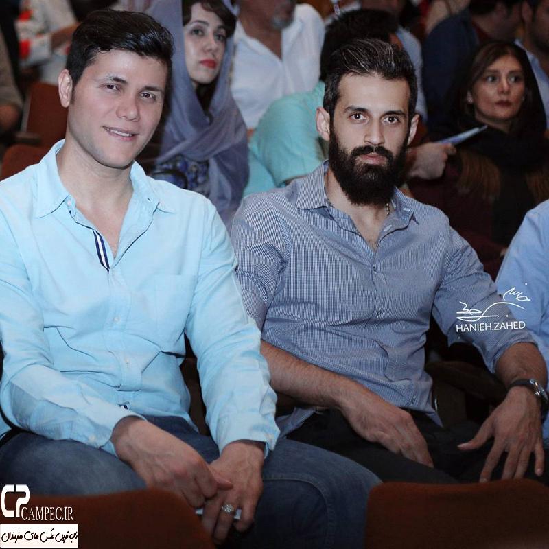 بازیگران و ورزشکاران در افتتاحیه نمایش فصل شکار بادبادک ها + تصاویر