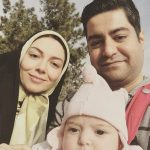 سفر خانوادگی آزاده نامداری به شمال