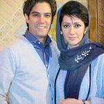 امیرعلی نبویان و همسرش بهار نوروزپور در زنده رود + تصاویر
