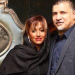 علی دایی و همسرش در کنسرت پرواز همای