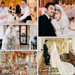 یک عکس دیگر از عروسی رضا گوچی با حضور تهی لو رفت