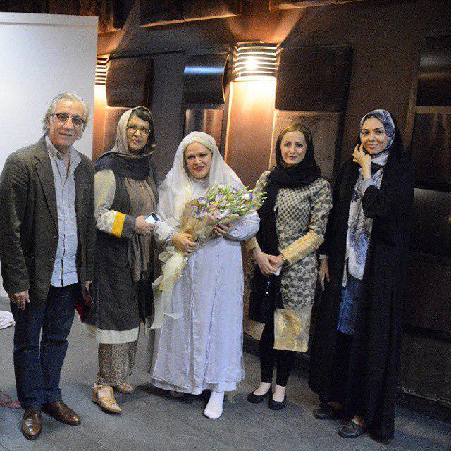 آزاده نامداری در عروسی بهاره رهنما