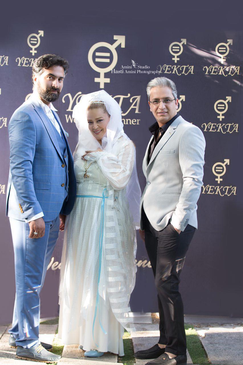 طراح لباس عروسی بهاره رهنما