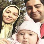 عکس جدید همسر و دختر آزاده نامداری در رامسر