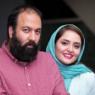 شاهکار جدید نرگس محمدی در موهاى همسرش