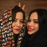 تبریک تولد زیبای مهراوه شریفی نیا برای تولد خواهرش ،ملیکا