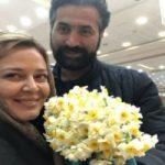 بهاره رهنما با پدرجان و همسر جان در افتتاحیه ژیوار!