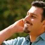 تبریک تولد پدر و مادر احسان خواجه امیری در اینستاگرام