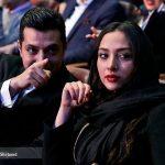 اشکان خطیبی و همسرش در جشنواره جهانی فیلم فجر + عکس