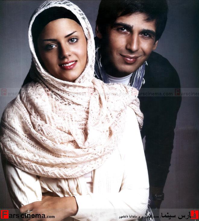 مصاحبه همراه با تصاویر جدید و متفاوت از حمید گودرزی و همسرش