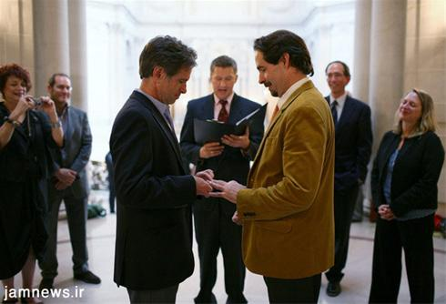 عکس:ازدواج مردها با هم !!