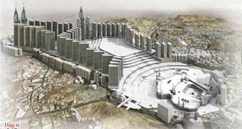 عکس:صحن مسجدالحرام این شکلی میشود مطلب