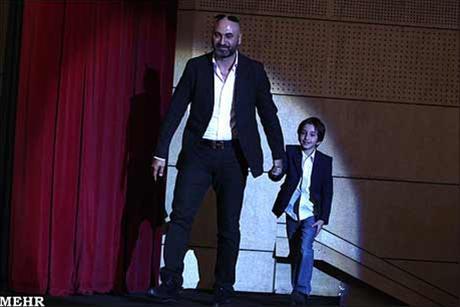 عکس:پسران بازیگران در جشن سینمایی و تلویزیونی دنیای تصویر