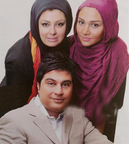عکس:نیوشا ضیغمی و همسرش در کنار خواهرش روشا ضیغمی