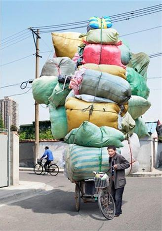عکس:کامیونی که دوچرخ دارد