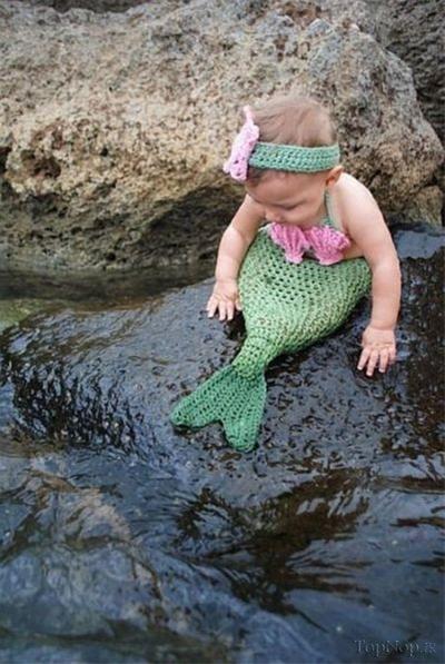 عکس:تا حالا یه پری دریایی واقعی دیدی؟(اگه نه حالا ببین)