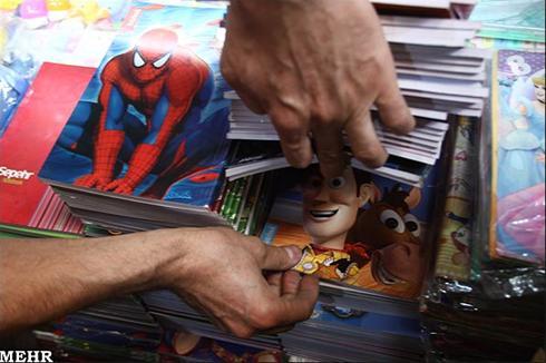 عکس:سال جدید تحصیلی با شخصیت های کارتونی هالیوود