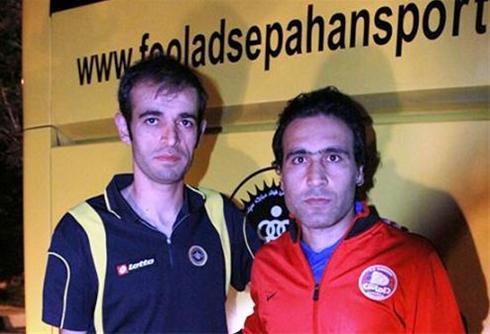 عکس:دو کیای تکرار نشدنی فوتبال ایران