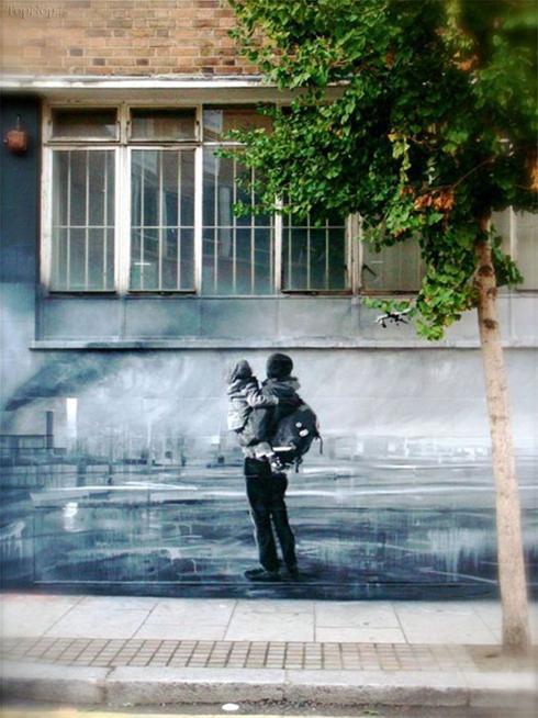 عکس:برترین هنر های خیابانی در سال 2010