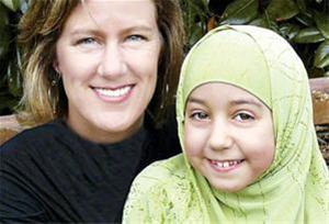 عکس:روایت خواندنی باحجاب شدن یک دختر