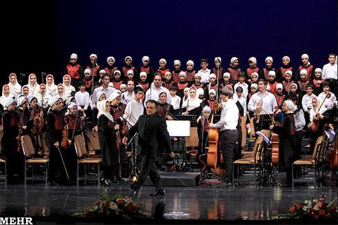 عکس:کنسرت گروه موسیقی کودکان ارف