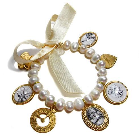 عکس:مدل های دستبند مروارید