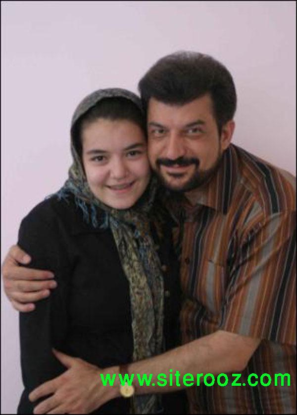عکس : محمود شهریاری و دخترش