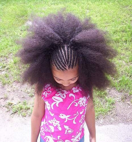 عکس: موهای جالب این دخترخانم....
