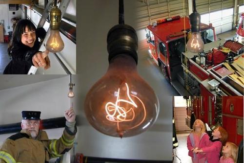 تصوری : لامپی که 107 سال روشن است