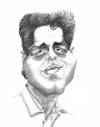 کاریکاتور دیدنی از مهران مدیری