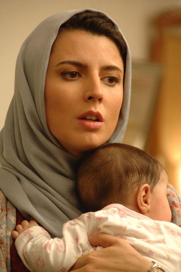 عکس لیلا حاتمی و فرزندش