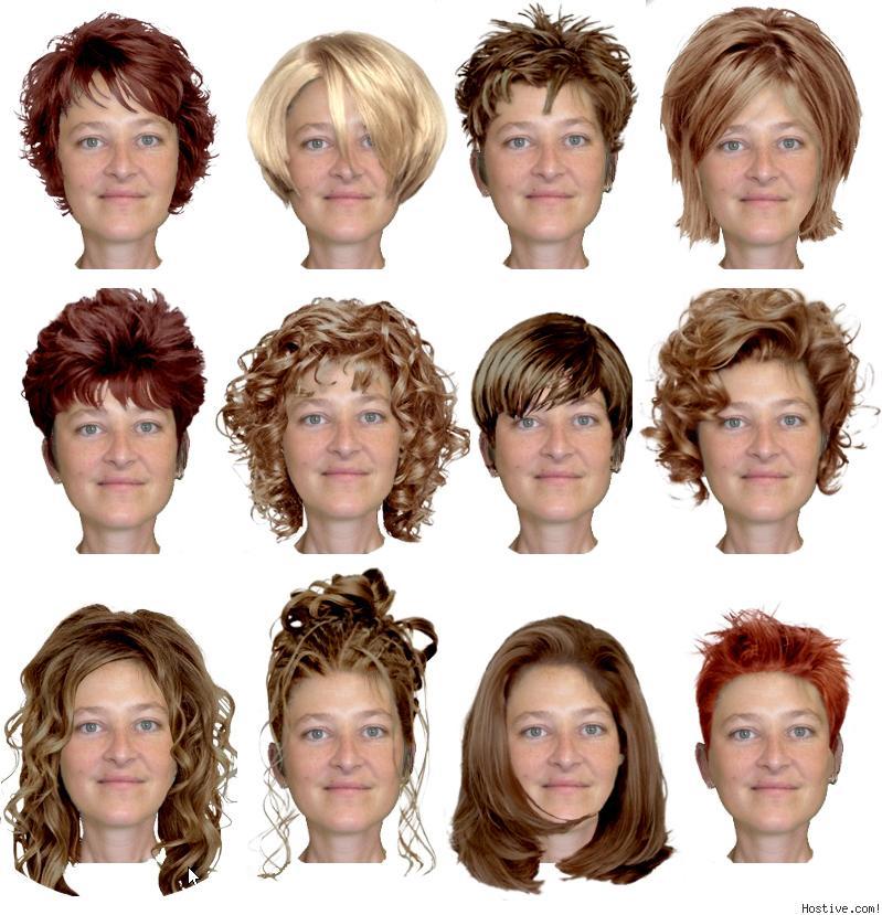 عکس:تغییر صورت با عوض شدن مو !
