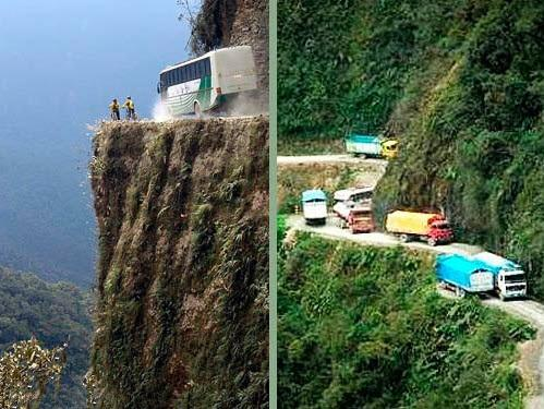 عجیب ترین جاده های دنیا