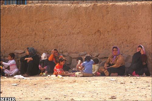 تصاویر: روستاهای زلزلهزده دامغان